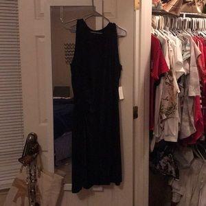 Black eloquii tank style dress 18/20 NWT